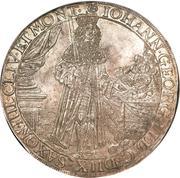 2 Thaler - Johann Georg II – obverse