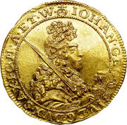 1 Ducat - Johann Georg IV – obverse