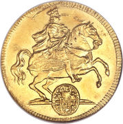 1 Ducat - Friedrich August I (Trade Coinage) – obverse