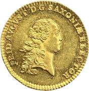 1 Ducat - Friedrich August III – obverse