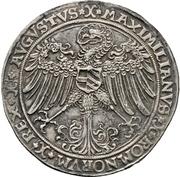 1 Guldengroschen - Friedrich III. – reverse