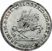2 Groschen - Friedrich August II – obverse