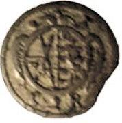 1 Pfennig - Johann Georg II – obverse