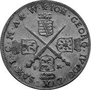1/12 Thaler - Johann Georg IV. – obverse