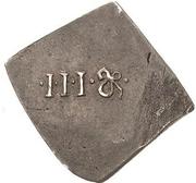 3 Groschen - Johann Friedrich II. (Klippe; Siege coinage) – reverse