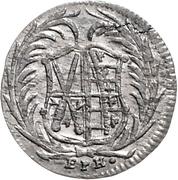 6 Pfennige - Friedrich August I – obverse