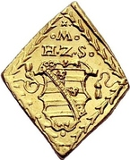 1 Ducat - Moritz (Siege coinage) – obverse