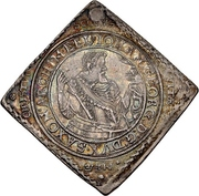 1 Thaler - Johann Georg I. (Klippe; Baptism) – obverse
