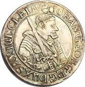 ¼ Thaler - Johann Georg I. – obverse