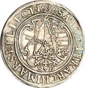 ¼ Thaler - Johann Georg I. – reverse