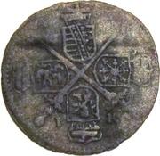 3 Pfennig - Johann Georg IV – obverse