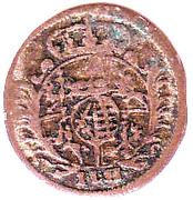3 Pfennig - Friedrich August I – obverse