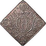 1 Thaler - Friedrich August I. (Klippe; shooting thaler) – obverse