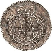 1 Heller - Friedrich August III. – obverse