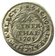 1/24 Thaler - Friedrich August I – reverse