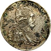 ⅓ Thaler - Friedrich August I/III – obverse