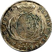 ⅓ Thaler - Friedrich August I/III – reverse