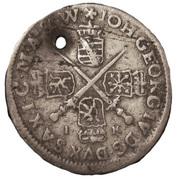 1/24 Thaler - Johann Georg IV – obverse