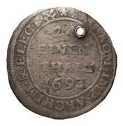 1/24 Thaler - Johann Georg IV – reverse
