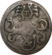 1 Dreier - Johann Friedrich I and Georg – obverse