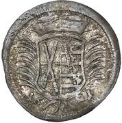 1 Dreier - Johann Georg III – obverse