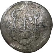 1 Dreier - Johann Georg III – reverse