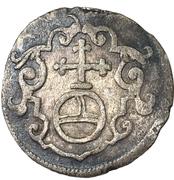 1 Dreier - Johann Georg I – reverse