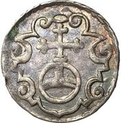 1 Dreier - Christian II, Johann Georg I and August – reverse