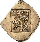 ¼ Thaler - Johann Friedrich II. (Siege coinage) – obverse