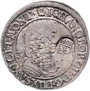 ⅓ Thaler - Johann Georg II – obverse