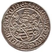 Zinsgroschen - Friedrich III, Johann and Georg – reverse