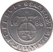 1/24 Thaler - Johann Georg III. – reverse