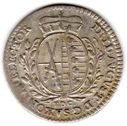 1/12 Thaler - Friedrich August III. – obverse