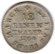 1/12 Thaler - Friedrich August III. – reverse