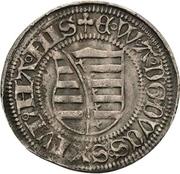 1 Groschen - Ernst, Albrecht and Wilhelm III. (Spitzgroschen) -  obverse