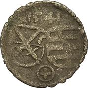 1 Pfennig - Johann Friedrich I. and Heinrich – obverse