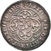 1 Groschen - Friedrich IV. (Helmgroschen) – obverse