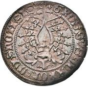 1 Groschen - Friedrich IV. (Helmgroschen) – reverse