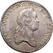 1 Thaler - Friedrich August III. – obverse
