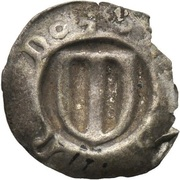 1 Pfennig - Friedrich II. (Hohlpfennig) – obverse