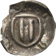 1 Pfennig - Friedrich II. (Hohlpfennig) – reverse