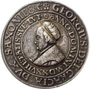 1 Guldengroschen - Georg the Bearded – obverse