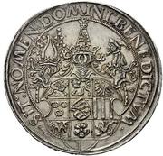 1½ Guldengroschen - Georg the Bearded – reverse