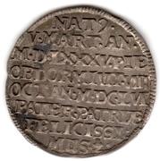 1 Groschen - Johann Georg I. (Death) – reverse