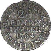 1/24 Thaler - Friedrich August III – obverse