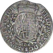 1/24 Thaler - Friedrich August III – reverse