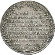 1 Thaler - Johann Georg II. – reverse