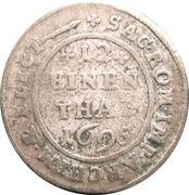 1/12 Thaler - Friedrich August I – reverse