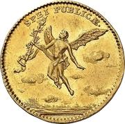 1 Ducat - Friedrich August II. (Marriage) – reverse