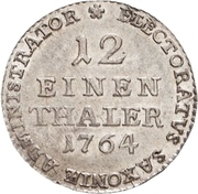 1/12 Thaler - Xaver – reverse